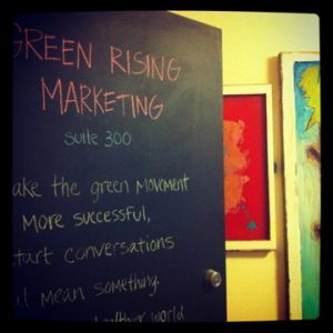 Green Rising Purpose
