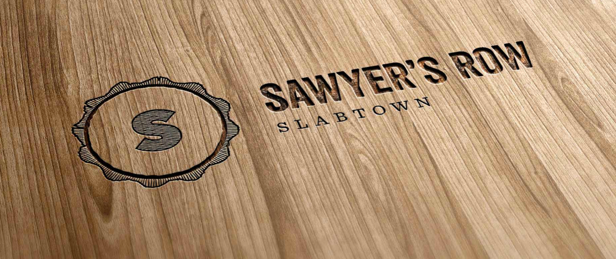 SR - Logo on wood screenshot