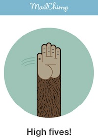 MailChimp High Five copy